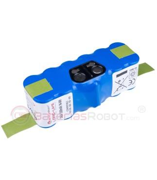 Batería Roomba Long-Life Ni-MH / Series 500, 600, 700, 800 (Compatible iRobot)