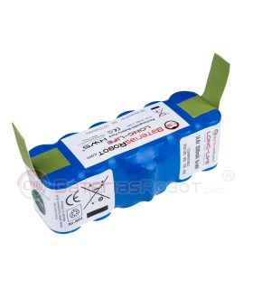 Roomba Battery Long-Life Ni-MH / Series 500, 600, 700, 800 (Compatible iRobot)