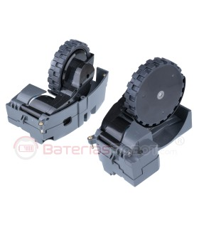 Roomba Wheels (Right + Left) Series 500, 600, 700, 800, 900, Series e, Series i, Series s.