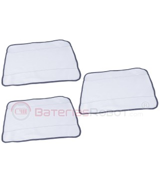3 x Mopa Braava - White dry cleaning (Compatible iRobot)