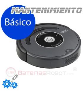 Servicio de Limpiezo y Mantenimiento Básico Roomba España