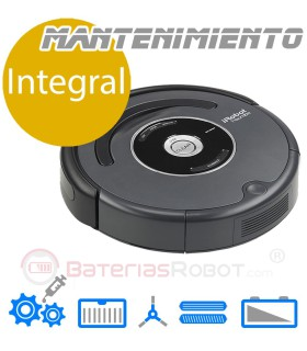 Limpeza e manutenção do serviço Roomba (Espanha)