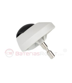 Rueda pivotante gris Mi XiaoMi Vacuum (Robot Aspirador)