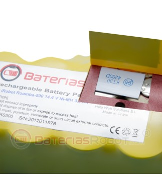 Batteria Roomba Series 500, 600, 700 e 800  (IRobot compatibile)