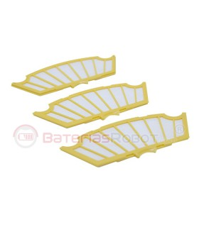 Pack of 3 filters for Roomba 500 (Compatible iRobot)