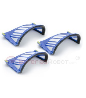 Set of 3 filters AeroVac Romba (Compatible iRobot)