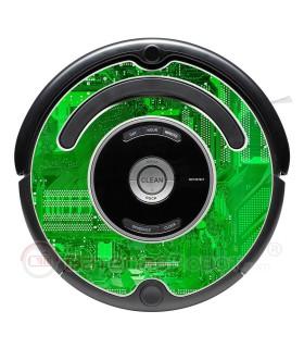 Electro. Decorative vinyl for Roomba - Serie 500 600 / V1