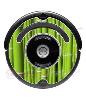 Bamboo. Decorative vinyl for Roomba - Serie 500 600