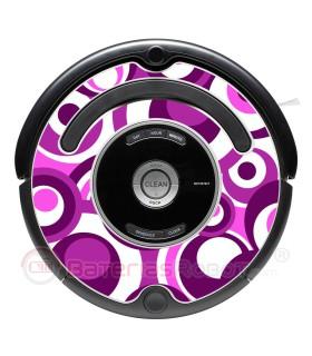 Pop-01. Vinyle pour Roomba - Série 500 600