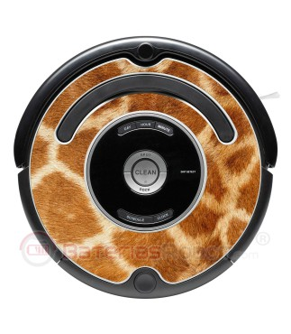 Giraffe. Decorative vinyl for Roomba - Serie 500 600