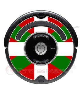 Ikurriña Basque Country flag. Sticker for Roomba - 500 & 600 series