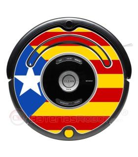 Flagge von katalanischen Estelada - Serie 500 600