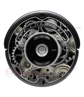 Gears. Vinilo para Roomba - Serie 500 600