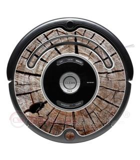 Tronco. Vinilo adhesivo para decorar Roomba - Serie 500 600