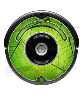Naturaleza. Vinilo para Roomba - Serie 500 600