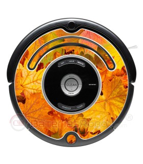 Herbst. Vinyl für Roomba - Serie 500 600