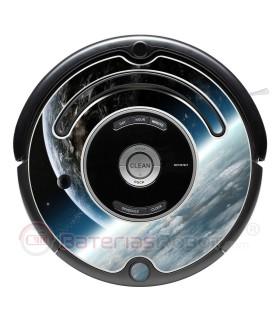 Space 2. Vinilo para Roomba - Serie 500 600
