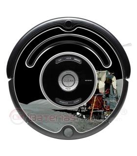 Apolo XI. Vinilo para Roomba - Serie 500 600