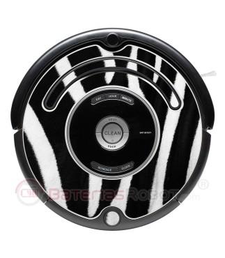 Cebra. Vinilo decorativo para Roomba - Serie 500 600