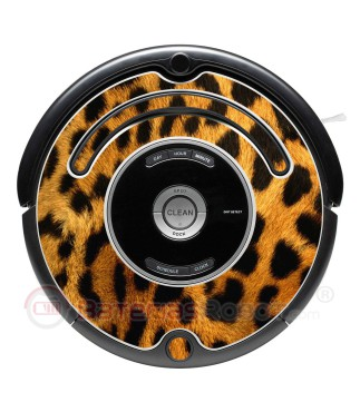 Leopard. Decorative vinyl for Roomba - 500 & 600 series