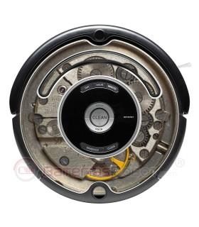 Stahl-Maschine. Vinyl für Roomba - Serie 500 600