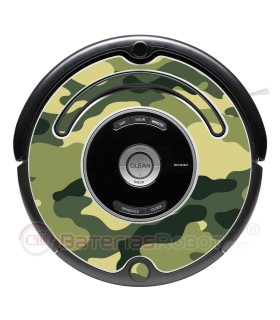 Camouflage 1. Your Roomba in camouflage - Serie 500 600