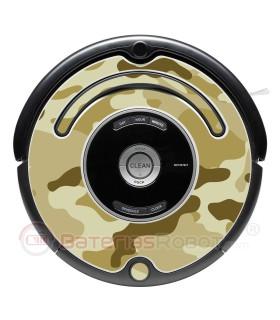 Camuflagem 2 - O seu Roomba Camouflage - Serie 500 600