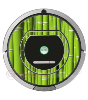 Bamboo. Vinyl for Roomba - 700, 800 Serie