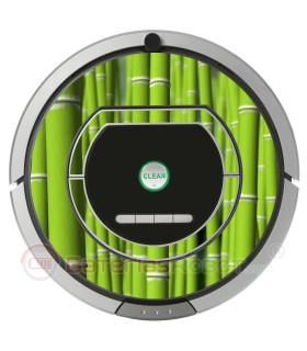 Bambou. Vinyle pour Roomba  - Sèrie 700