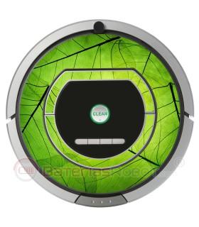 Naturaleza. Vinilo decorativo para Roomba iRobot - Serie 700.