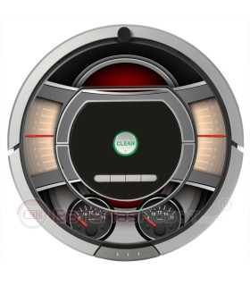 Inside Machine. Vinilo decorativo para Roomba iRobot - Serie 700, 800