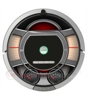 Plantilla .Vinilo decorativo para Roomba iRobot - Serie 700.