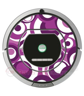 Pop 01. Vinilo decorativo para Roomba iRobot - Serie 700.