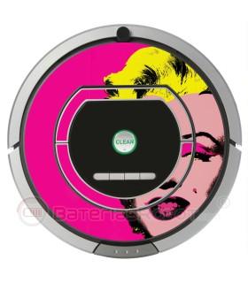 POP-ART. Vinil para Roomba  - Serie 700
