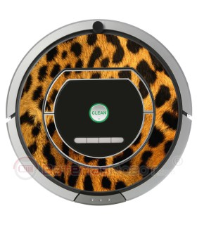 Leopard. Vinyl for Roomba - 700 Serie
