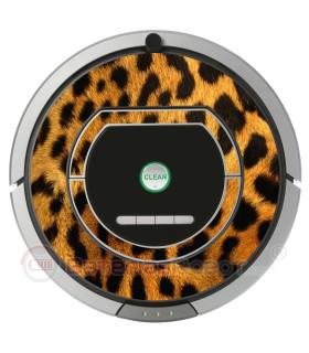 Leopardo. Vinil para Roomba  - Serie 700