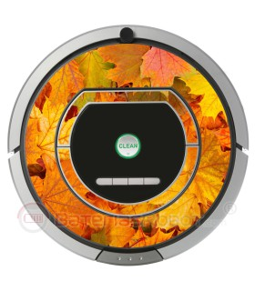 Otoño Vinilo decorativo para Roomba iRobot - Serie 700.