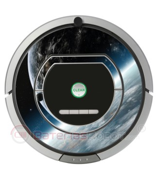 Space 2. Vinilo decorativo para Roomba iRobot - Serie 700.