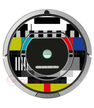 TV settings. Vinyl for Roomba - 700 800 Serie