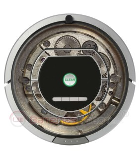 Stahl-Maschine. Vinyl für Roomba- Serie 700