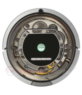Máquina de Acero. Vinilo para Roomba - Serie 700 800
