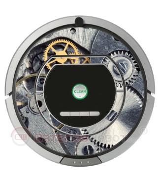 Maquinaria de Reloj. Vinilo para Roomba- Serie 700 800