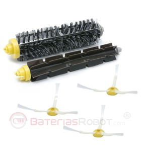 Pack brushes Roomba 600 and 700