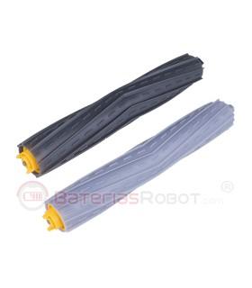Packen Sie Roller Extraktor AeroForce schwarz + grau. IRobot Roomba - 800 900 Serie