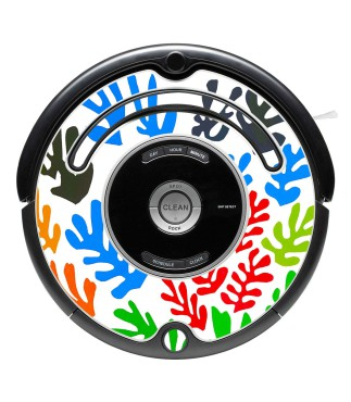 Decorative vinyls Roomba