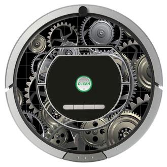 Vinilos decorativos para Roomba 700 de iRobot.