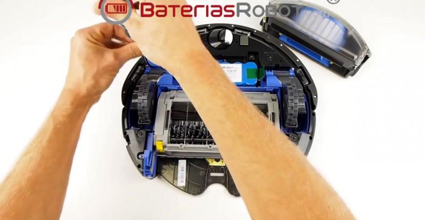 Cómo cambiar una rueda a un Roomba