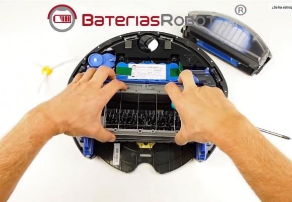 Reparar Carro Cepillos de tu Roomba